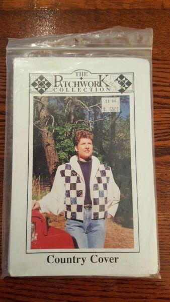 The Patchwork Collection Country Cover Jacket Sewing Pattern PWC138 S XL UNCUT $8.03