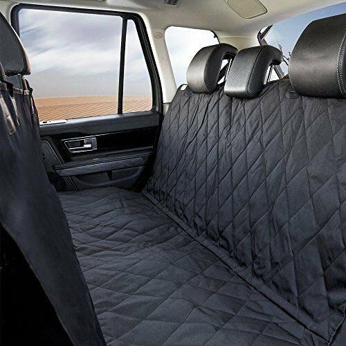 Dog Car Seat Cover Durable Waterproof2 Side PanelsQuality Carrying Bag $18.89