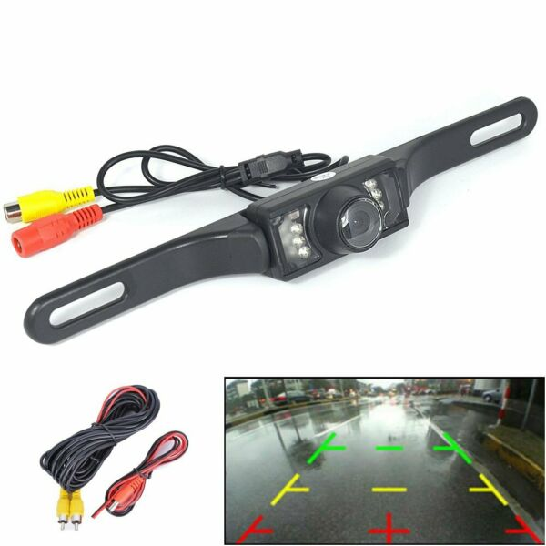 CMOS Car Rear View Backup Parking Reverse Camera Back HD Vision Waterproof 7 LED