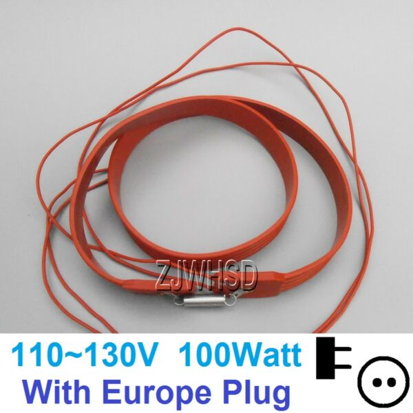 110V 100W Brew Heating Heater Brewing Belt Pad Wine Beer Fermentation Pails EUR