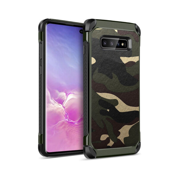 Military Case Camo Army Camouflage Cover For Samsung Galaxy S10e S10 S10 Plus $8.99