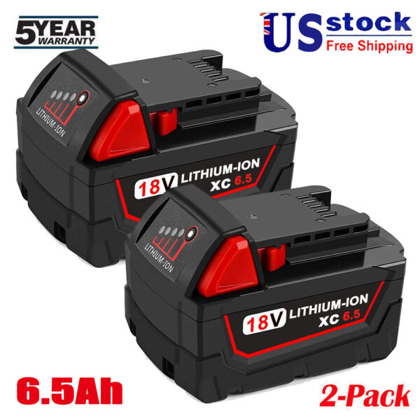 New For Milwaukee 18 Volt 48 11 1890 M18 Lithium High Capacity XC 9.0Ah Battery