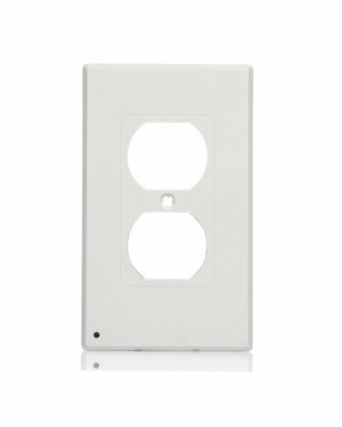 Duplex Wall Outlet Cover wall plate with led night lights Ambient light sensor