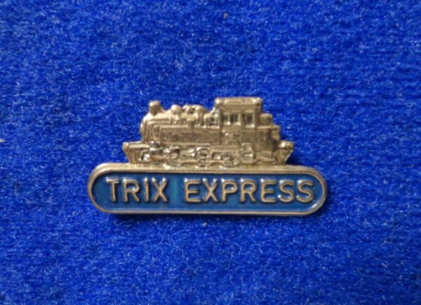 Old Locomotive Engine Shaped Pin - Marklin Trix Express German Toy Train Maker z