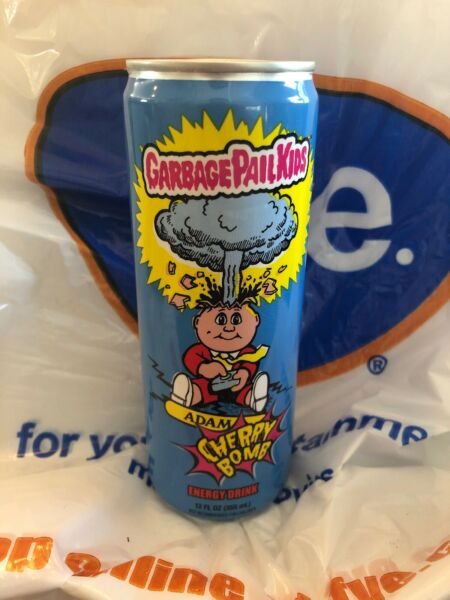 Garbage Pail Kids Adam Bomb Energy Drink Cherry Bomb FYE New