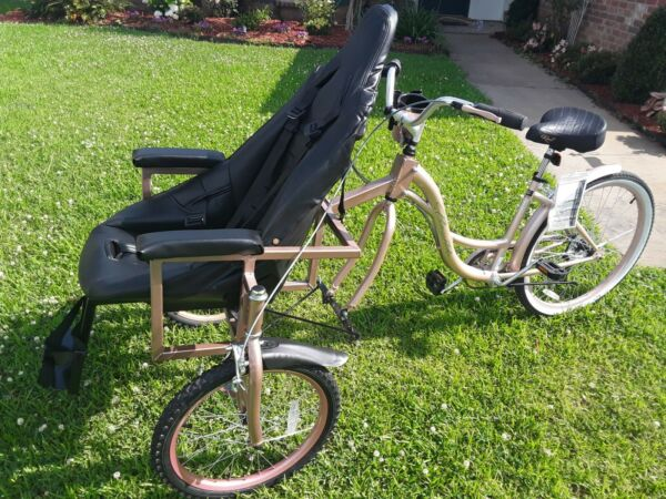 Custom build Chair Bike for special need children and adults $0.99