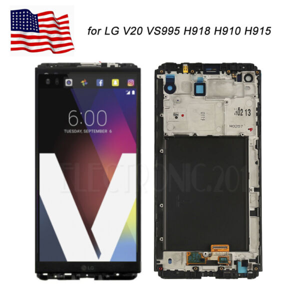for LG V20 VS995 H918 H910 H915 LCD Display Touch Screen Digitizer Replacement A
