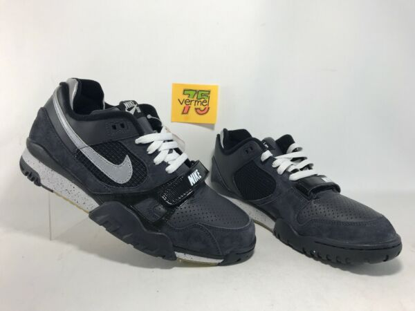NEW NIKE DUNK AIR TRAINER 2 SB MAX 1 sz 10.5 318480-001 ANTHRACITE BLACK SILVER