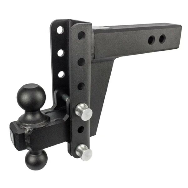 Bulletproof ED256 Adjustable 2.5quot; Extreme Duty 6quot; Drop Rise Trailer Hitch $379.00