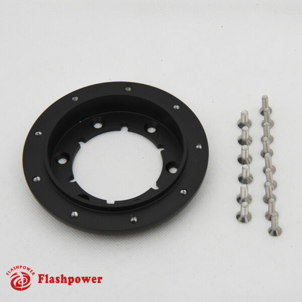 1 2quot; Steering Wheel Spacer Kit for 9 hole Steering Wheel to 6 hole Adapter