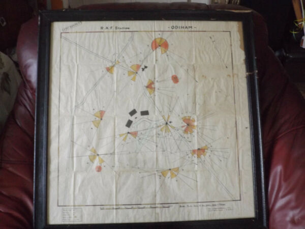 Blue Chip Christmas WW2 Top Secret War Map Artist Military Britain Can Drawing
