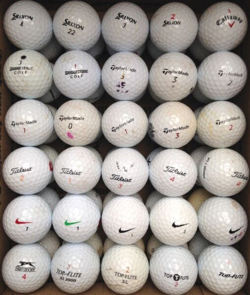 9 Dozen Assorted used balls in AAAAA (3A2A) condition
