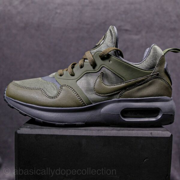 NIKE AIR MAX PREMIUM TRAINER SNEAKERS MEN SHOES OLIVE 876068-200 SIZE 8.5 NEW