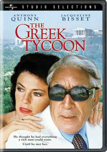 The Greek Tycoon DVD Anthony Quinn NEW