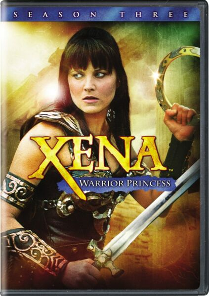 Xena Warrior Princess Complete Season 3 DVD Lucy Lawless NEW