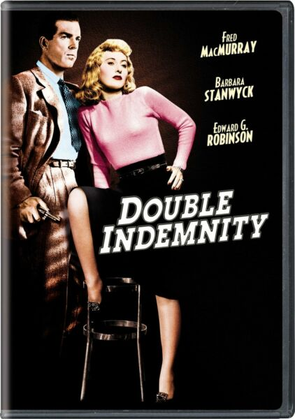 Double Indemnity DVD Byron Barr NEW $9.35