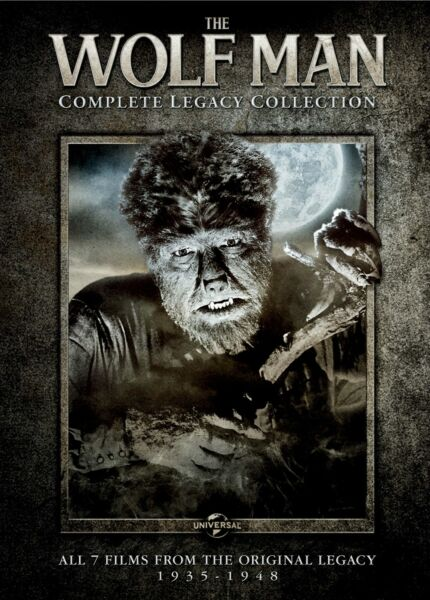 The Wolf Man Complete Legacy Collection DVD NEW $12.99