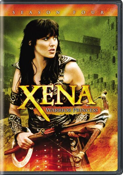 Xena Warrior Princess Complete Season 4 DVD Lucy Lawless NEW