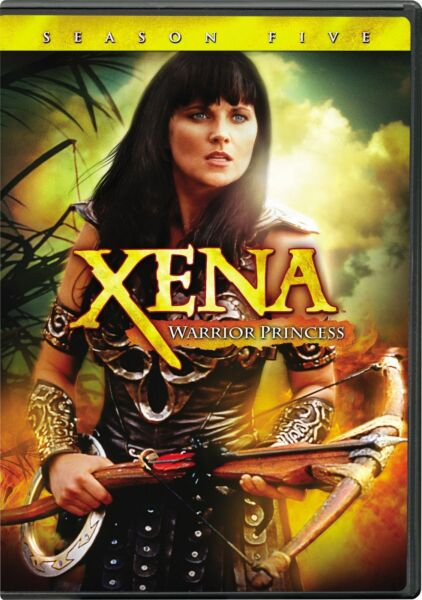 Xena Warrior Princess Complete Season 5 DVD Lucy Lawless NEW