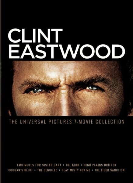 Clint Eastwood The Universal Pictures 7 movie Collection DVD NEW $17.36