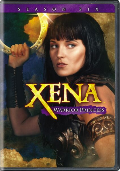 Xena Warrior Princess Complete Season 6 DVD Lucy Lawless NEW