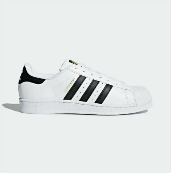 ADIDAS ORIGINALS MEN'S SUPERSTAR SHOES CLOUD WHITE/CORE BLACK/CLOUD WHITE C77124