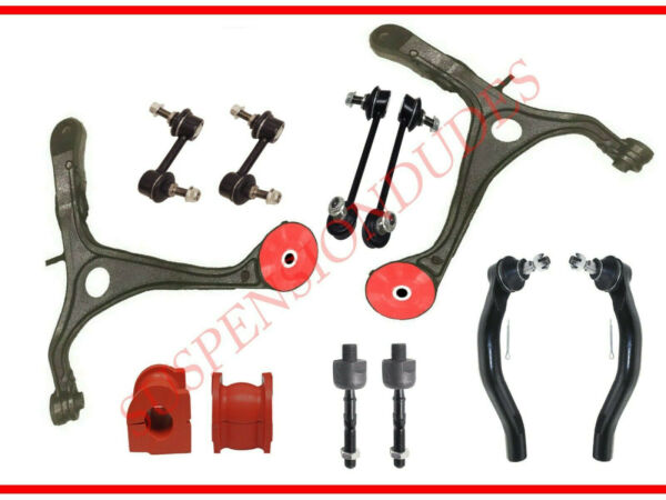 12PC Front Lower Control Arm Kit for 2004-2006 Acura TL