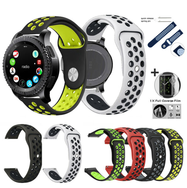 For Samsung Gear S3 Classic Frontier Smart Watch Band Wrist Strap Silicone 42mm