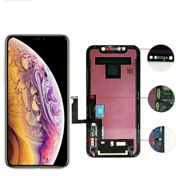 OLED amp; LCD For iPhone X XR XS Max Display Touch Screen Digitize Replacement Lot