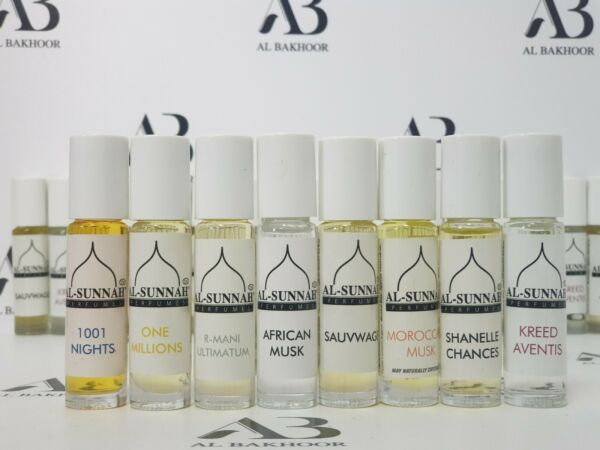 Al Sunnah Perfumes Collection - Quality Designer Oils Fragrance Free UK Dispatch