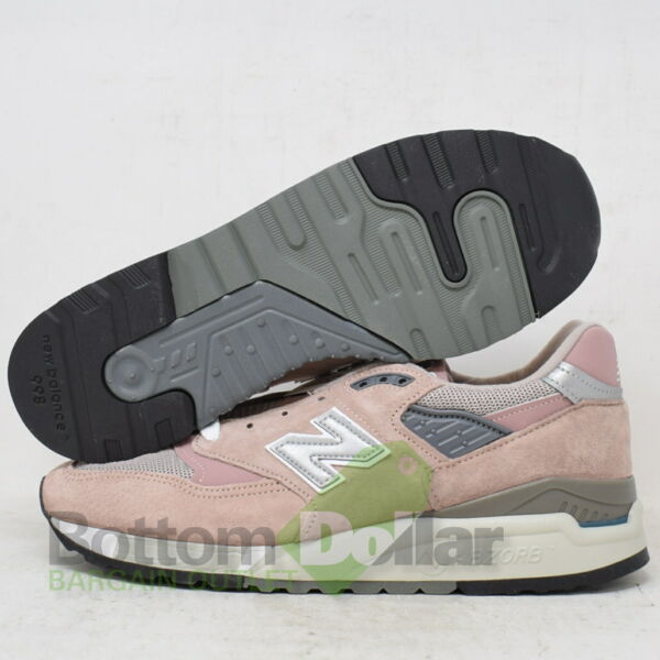 New Balance M998KI1 Made In The USA Classics Men's Running Shoes Pink