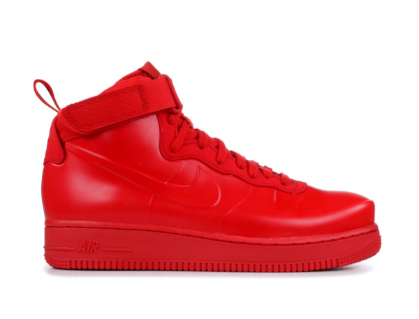 Nike Air Force One AF 1 Foamposite Cup Men's Shoes Size 9 Triple Red BV1172-600