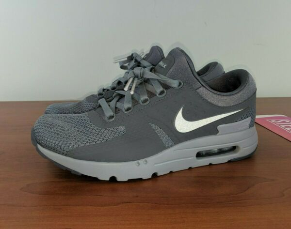 Nike Air Max Zero QS Men's Sneakers Wolf Grey Cool Grey 789695 003 Size 10.5