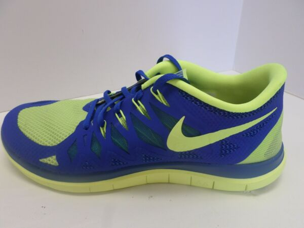 New Nike Men's Free iD 4.0 Shoes Blue/Volt  653720-991  ***