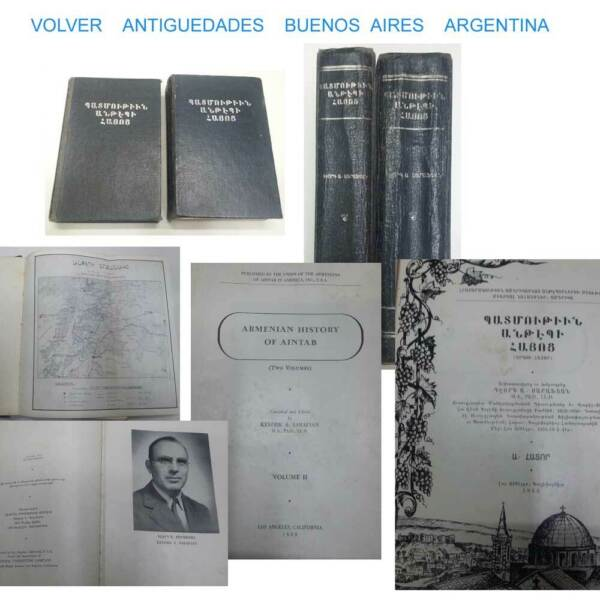 Armenian History of Aintab Sarafian Vol. I & II Los Angeles California 1953