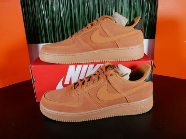Nike Air Force 1 '07 LV8 Style Mens Shoes AF1 Brown Gum AQ0117 800 Multi Size