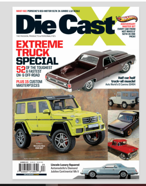 Die Cast X Magazine Summer 2019 Hot Wheels Toy Cars