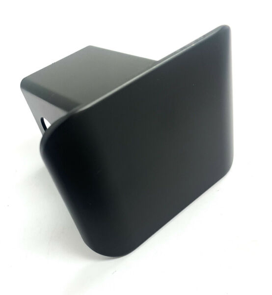 Blank Black Plastic Trailer Tow Hitch Plug Cover For 2#x27;#x27; Hitch Receivers $9.99