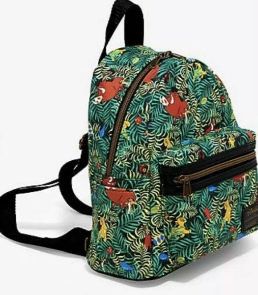Loungefly Disney The Lion King Jungle Bugs Mini Backpack NWT. Ready To Ship!!