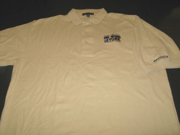 YORK AFFINITY Gas Furnaces Its Time To Get Comfortable GOLF Polo Shirt New XL $15.96