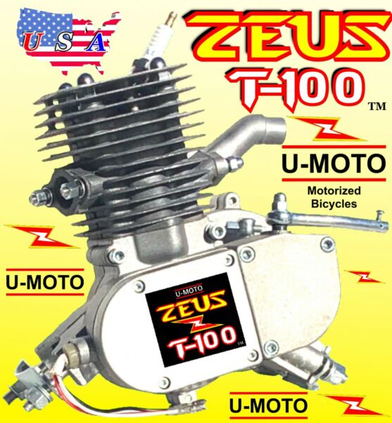 NEW 80cc 100cc 2 STROKE Motorized Bike ENGINE ONLY FOR KITS AND BICYCLE BONUS $119.99