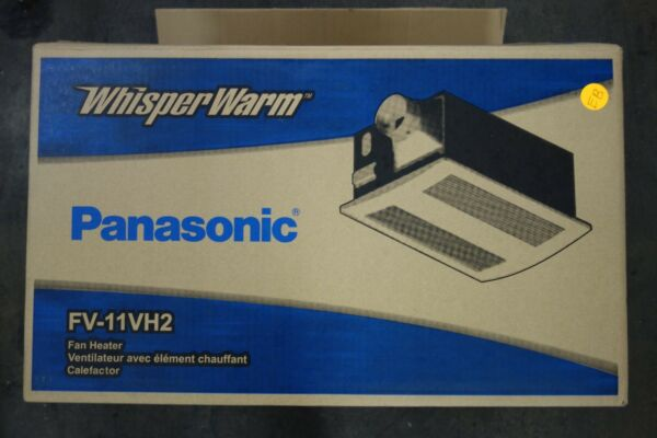 Panasonic WhisperWarm FV-11VH2 Heater -NEW