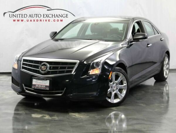 2013 Cadillac ATS Luxury w Front and Rear Parking Aid with Rear Vie 2013 Cadillac ATS Luxury w Front and Rear Parking Aid with Rear Vie 62155 Miles