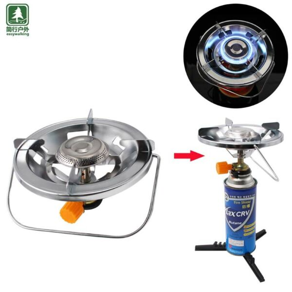 Backpacking Portable Butane Gas Stove Camping Stove Gas burner Cooking BBQ