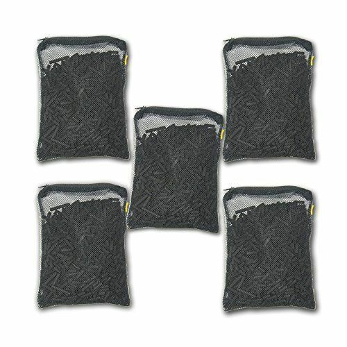 5 lbs Activated Carbon in 5 Media Bags for Aquarium Fish Pond Canister Filter $15.98