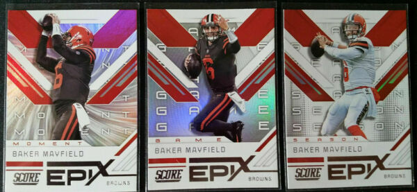 2019 Score EPIX - You Pick - All Cards $1.49 Each - Buy 3 Get 2 FREE