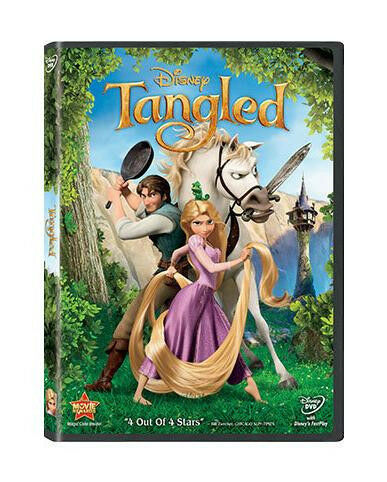Tangled (DVD 2011) New Free Shipping!!!