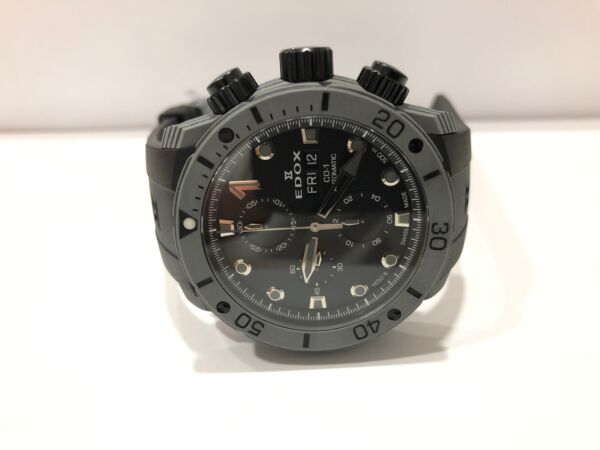 Edox CO 1 01125 CLNGN NING Carbon watch $3000.00