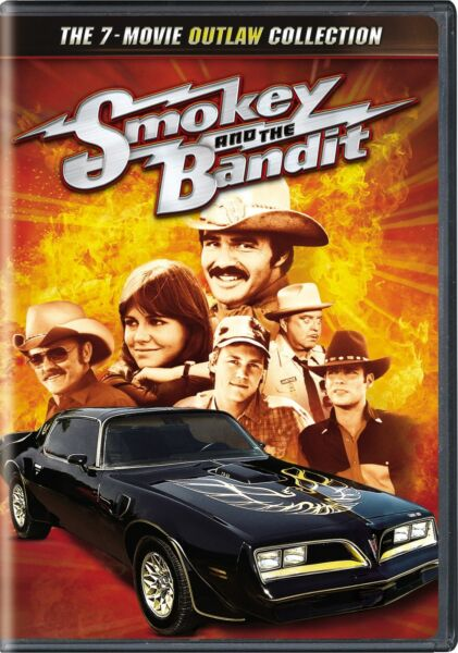 Smokey and the Bandit The 7 Movie Outlaw Collection DVD NEW $9.99
