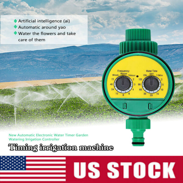 Smart Automatic Irrigation Sprinkler Water Timer FrequencyWater Time Control UK